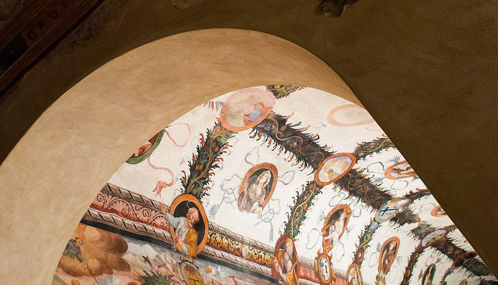 Convento_S_Antonio_di_Padova_Tito_(PZ),_chiostro,_corridoio_nord